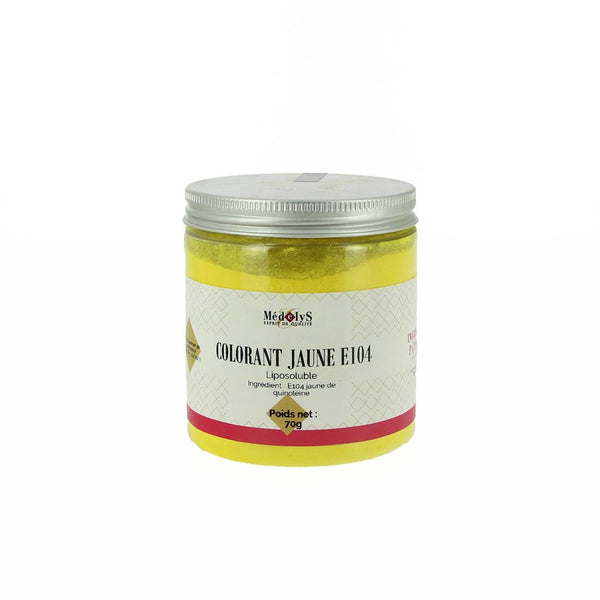 Colorant jaune E104 liposoluble - 70G