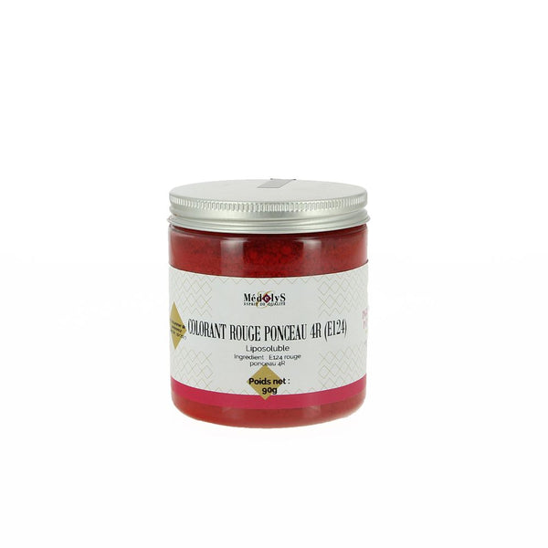 Colorant rouge ponceau E124 liposoluble - 90G