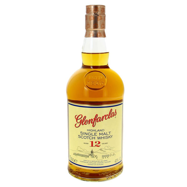 Glenfarclas Single Malt 12 ans 40% - 70cl