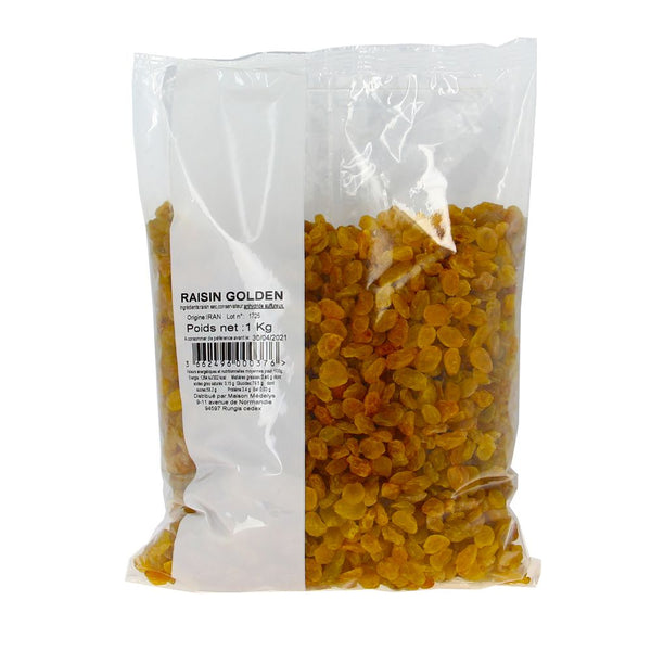 Raisin Golden blond doré - 1kg