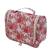 Essential Hanging Cosmetic Bag - Flourish Pink