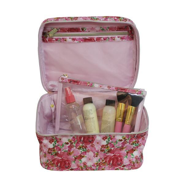 Tonic Makeup Case - Flourish Pink