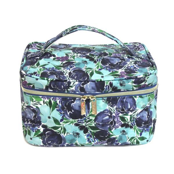 Tonic Makeup Case - Flourish Blue