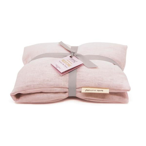 Heat Pillow -  Luxe Linen Blush