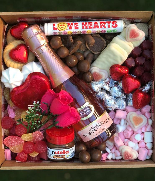 The little box filled with love...Moscato option