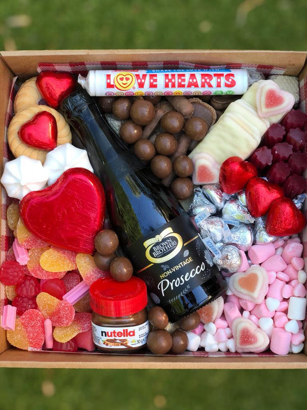 Lots of love in a box ..Prosecco option