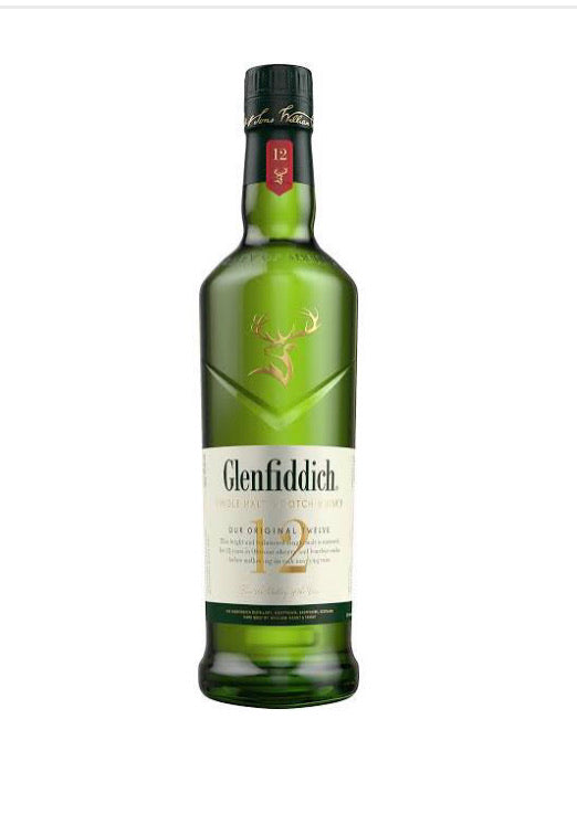 Glenfiddich 12 Year Old Single Malt Scotch Whisky - Add On