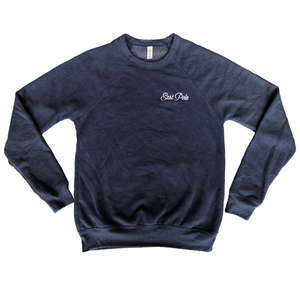 Embroidered East Pole Crewneck Sweatshirt