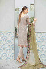 Load image into Gallery viewer, Summer Meadow Rangoon by Ramsha Ladies Suit