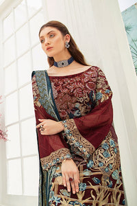 Maroon Luxury Chiffon by Ramsha Ladies Suit