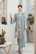 Load image into Gallery viewer, Coastal Cabane Rangoon by Ramsha Ladies Suit