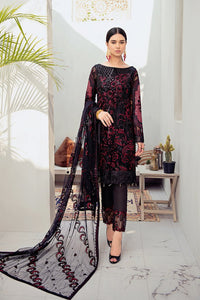 Midnight Glamour Rangoon by Ramsha Ladies Suit