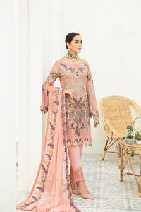 Peach Luxury Chiffon by Ramsha Ladies Suit
