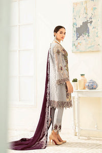 Grey Luxury Chiffon by Ramsha Ladies Suit