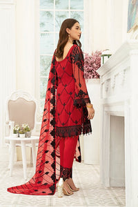 Red Luxury Chiffon by Ramsha Ladies Suit