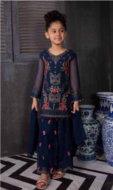 Arzoo Mommy & Me Girls Suit