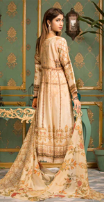 Load image into Gallery viewer, Beige Ladies Maxi Frock