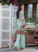 Load image into Gallery viewer, Cyan Kuch Khas Ladies Suit