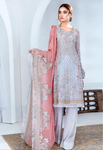 Grey Jannan Premium Ladies Suit