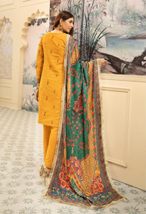 Mustard Yellow Nisa Ladies Suit