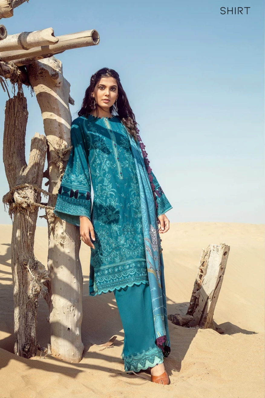 Aegean BAROQUE Khaddar Unstitched Suit