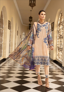 Light Pink Mehwish Ladies Suit