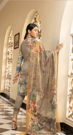 Load image into Gallery viewer, Grey Mehwish Ladies Suit