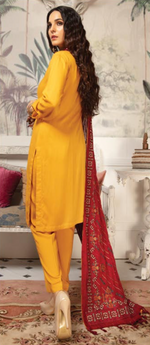 Load image into Gallery viewer, Mustard Pehchaan Ladies Suit