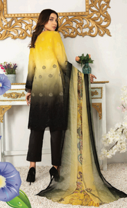 Yellow Chiken Kari Ladies Suit