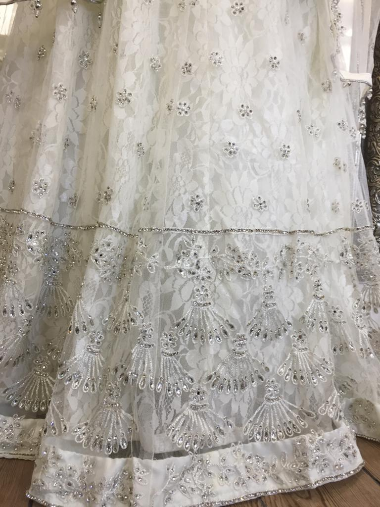 White Party Ladies Lehenga