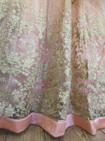 Load image into Gallery viewer, Peach and Gold Ladies Frock