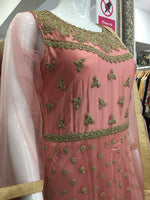 Load image into Gallery viewer, Pink and Gold Ladies Frock