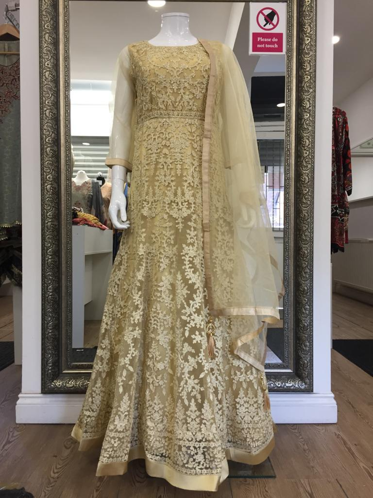 Gold Ladies Frock