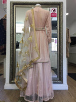 Load image into Gallery viewer, Pink Long Kameez Ladies Lehenga