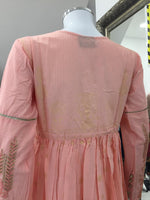 Load image into Gallery viewer, Pink Ladies Frock Kurti