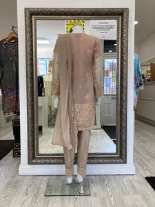 Dusty Pink Ladies Suit