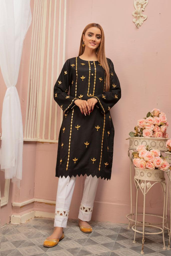 Black Mirror Ladies Kurti
