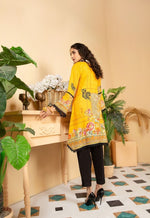 Load image into Gallery viewer, Yellow Munira Designer Ladies Kurti