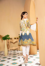 Load image into Gallery viewer, Off White Munira Designer Ladies Kurti