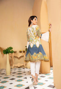 Off White Munira Designer Ladies Kurti