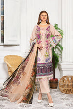 Load image into Gallery viewer, Pink Linen by Munira Ladies Suit