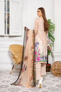 Pink Linen by Munira Ladies Suit