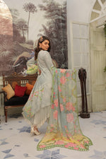 Load image into Gallery viewer, Grey IVANA Luxury Lawn Ladies Frock