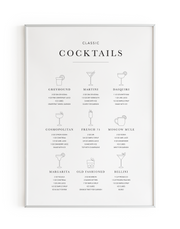 B&W Classic Cocktails