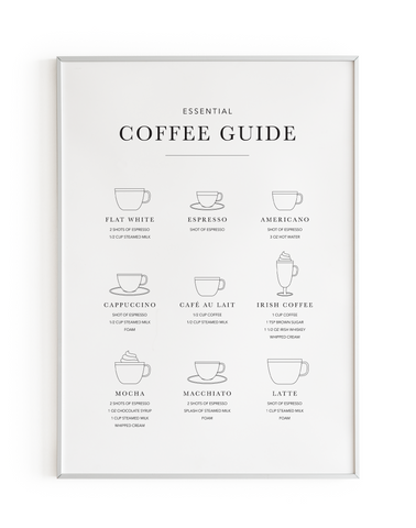 B&W Coffee Guide