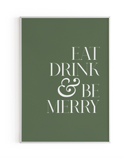 Green Eat Drink & Be Merry