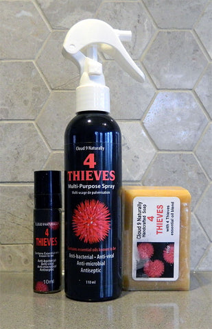 Gift Set - 4 Thieves Anti-bacterial Cleansing