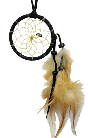 "Dream Catcher 2"" Black with Hematite"