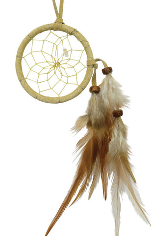 "Dream Catcher 2"" Tan with Citrine"
