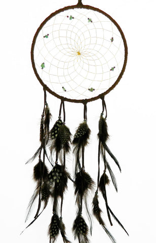 "Dream Catcher 6"" with Green Aventurine"